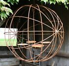 """24"""" Eclipse Candle Chandelier - Sphere Shape with 4 Holders"""