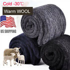 3 Pairs US Mens Warm & Soft Comfort Wool Cashmere Socks Large Winter Thick Socks