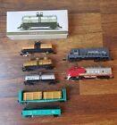 "LOT #15 - 6x Assorted N Scale Freight Cars + 2x ""Dummy"" Locos for Model Train"