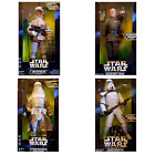 "Star Wars Luke Skywalker Sandtrooper Snowtrooper Grand Moff Tarkin 12"" Figures! £59.95 GBP"