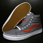 Vans Sk8-hi Canvas Tornado Racing Red Men's Skate Shoes//s79114.177