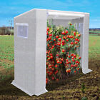 7x3x6'H Tomato Greenhouse Replacement Canopy PE Waterproof Plant House Cover