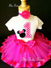 hot pink polka dots minnie mouse girl