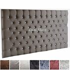 Stylish Crushed velet ,Roma Daimonte/Buttons, Headboard  26'' Height