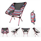 Portable Folding Camping Stool Chair Seat+Backpack For Fishing Picnic BBQ New
