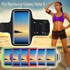 For Samsung Galaxy Note 8 Sports Running Gym Armband Arm Holder Case Cover Pouch