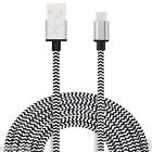 USB-LADEKABEL VERSTÄRKT IPHONE 6 5S 5C IPAD AIR IPOD 8-PIN-BLITZ METALL