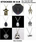 Star Wars Jewellery Death Star Darth Vader Stormtrooper Yoda Pendant Necklace $6.62 USD on eBay