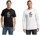 Three Crosses 0367 100% cotton Tee Mens T shirt Tagless