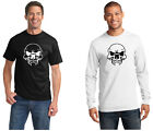 Vampire Skull 0112 100% cotton Tee Mens T shirt Tagless