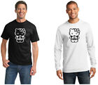 Star Wars Hello Kitty C3PO 2980 100% cotton Tee Mens T shirt Tagless
