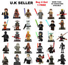 Star Wars Minifigure Force Awakens Rogure One Yoda Han Solo Leia Mini Figure £2.45 GBP