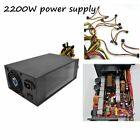 2200W Power Supply with Dual 8CM Low Noise Cooling Fans for Bitcoin Machine KG
