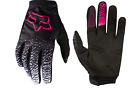 Fox Racing Dirtpaw Race Gloves Women's Black and Pink Adult Sizing MX 19509-285