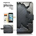For iPhone 6 6S Plus  Case Cover A40259 Old Iron Wall