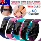 Smart Wristband Fitness Health Tracker Watch Health Band Fitbit Style AU STOCK