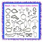 Sea life cookie cutters - CHOOSE YOUR STYLE - under the sea nautical beach ocean