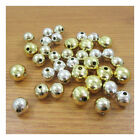Round Silver Or Gold Acrylic Beads *10 Sizes* Jewellery Making Beading Crafts