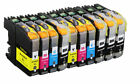 LC203XL High Yield Ink For Brother MFC-J460DW J48DW J680DW J485DW J885DW J880DW