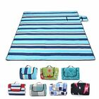 "79"" Foldable Waterproof Outdoor Camping Picnic Mat Pad Beach Blanket Aluminum US"