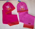 Peppa Pig Hat & Scarf Knitted Set1 Style 2 Colours Christmas Party Gift Birthday