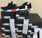 Adidas NMD_XR1 PrimeKnit OG Originals Core Blk Blue Red BY1909 PK 100% AUTHENTIC