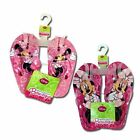 Flip Flops Beach Sandal Disney Minnie Mouse Pink Infant Toddler Youth Girls NWT
