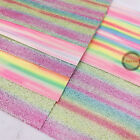 7Pcs Bundle Sparkle Glitter Fabric Leather Sheet Lot Shiny Decoration Material