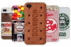 new treat vintage retro sweets bourbon chocolate hard back case cover for iphone