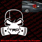 DIE CUT Skull Mask Toyota Window Vinyl Sticker Decals Punisher TRD Scion RC060 on eBay