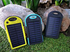 Solar Charger Compact Battery Pack Backpack For iPhone 6, Cell Phone, Android