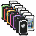 Hybrid Shockproof Hard Defender SLIM ARMOR Case For Apple iPod Touch 4th Gen