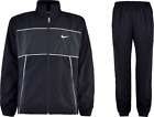 NIKE MENS CLASSIC WOVEN COLOR BLOCK WARM UP Tracksuit Jacket and Pants