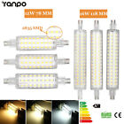 R7s 78mm 118mm Led Floodlight Corn Bulb 12w 16w 2835 Smd Replace Halogen Lamps