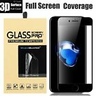 3D Tempered Glass Curved Full Cover Screen Protector For iPhone...