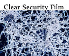"Protect Transparent 4 Mil 24"" x25' Safety Security Window Film Roll Home Glass"