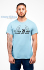 21st Birthday Gift T-Shirt for Men funny IT TOOK 21YRS TO LOOK THIS GOOD