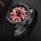 NAVIFORCE New Men's Military Army Camouflage Date Waterproof Sports Wrist Watch image