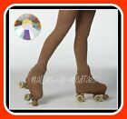 OVER THE BOOT ICE ROLLER SKATING TIGHTS + SWAROVSKIS AB **4MM** VARIOUS SIZES
