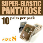(Free shipping) S size Super-elastic pantyhose (10 pairs per pack) 3 Colors