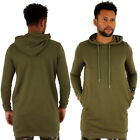 Streetwear Special Sixth June Super Long Line Khaki Hoodie