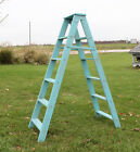 Double Display Wooden Ladder 6 Steps High - Choose From 35 Colors