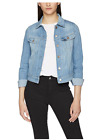 Ladies Ex Lee Rider Denim Jacket Slim Super Stretch RRP £95 coat womans - LJ
