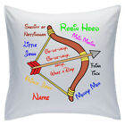 "Personalised White Cushions 18"" - Disney - Robin Hood"