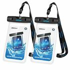 Universal Waterproof Case IPX8 Waterproof Phone Pouch Dry Bag for iPhone8 7 7p