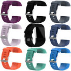 Replacement Silicone Wrist Band Strap Bracelet w/Tools for Fitbit Surge