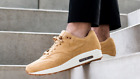 Nike Air Max 1 Premium Wheat Flax Mens Shoes 875844-203 Size 8-13