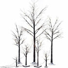 Silver Birch Twig Tree LED Warm White Light White Branches Home Gar