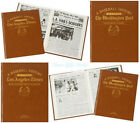 PERSONALISED History of AMERICAN BASEBALL NEWSPAPER BOOK Gift Ideas For Fan Him