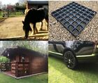 Log Cabin Base Greenhouse Gravel Drive Paddock Grass Grids Plastic Slabs UK MADE